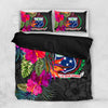 Samoa Hibiscus Polynesian Pattern Bedding Set All Over Printed