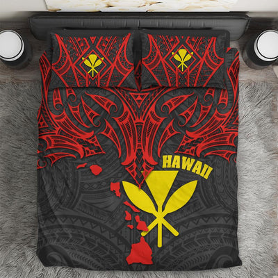 Polynesian Hawaii Polynesian Whale Tail  Bedding Set All Over Printed - luxamz