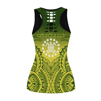 Kuki Arirani Cook Islands Premium tank-top and legging 3d all over print