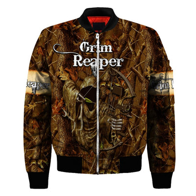 Grim Reaper Hunting All Over PrintT Shirts for Men and Women