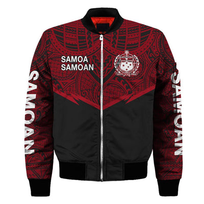SAMOA POLYNESIAN SAMOAN RED all over print