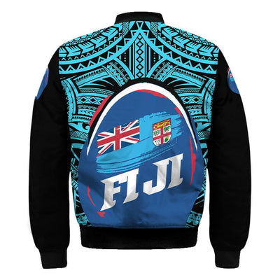 Fij Polynesian Pattern With Flag ALL OVER PRINT
