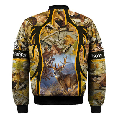 BOW Hunter all over print shirts for Men and Women