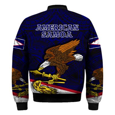 American Samoa Eagle Special Blue Color all over print