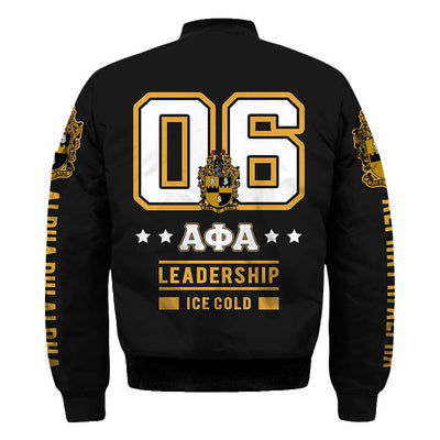 Alpha Phi Alpha leadership ice cold all over print