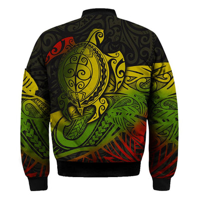 Polynesian Hawaii Hoodie Turtle Type a message All Over Print