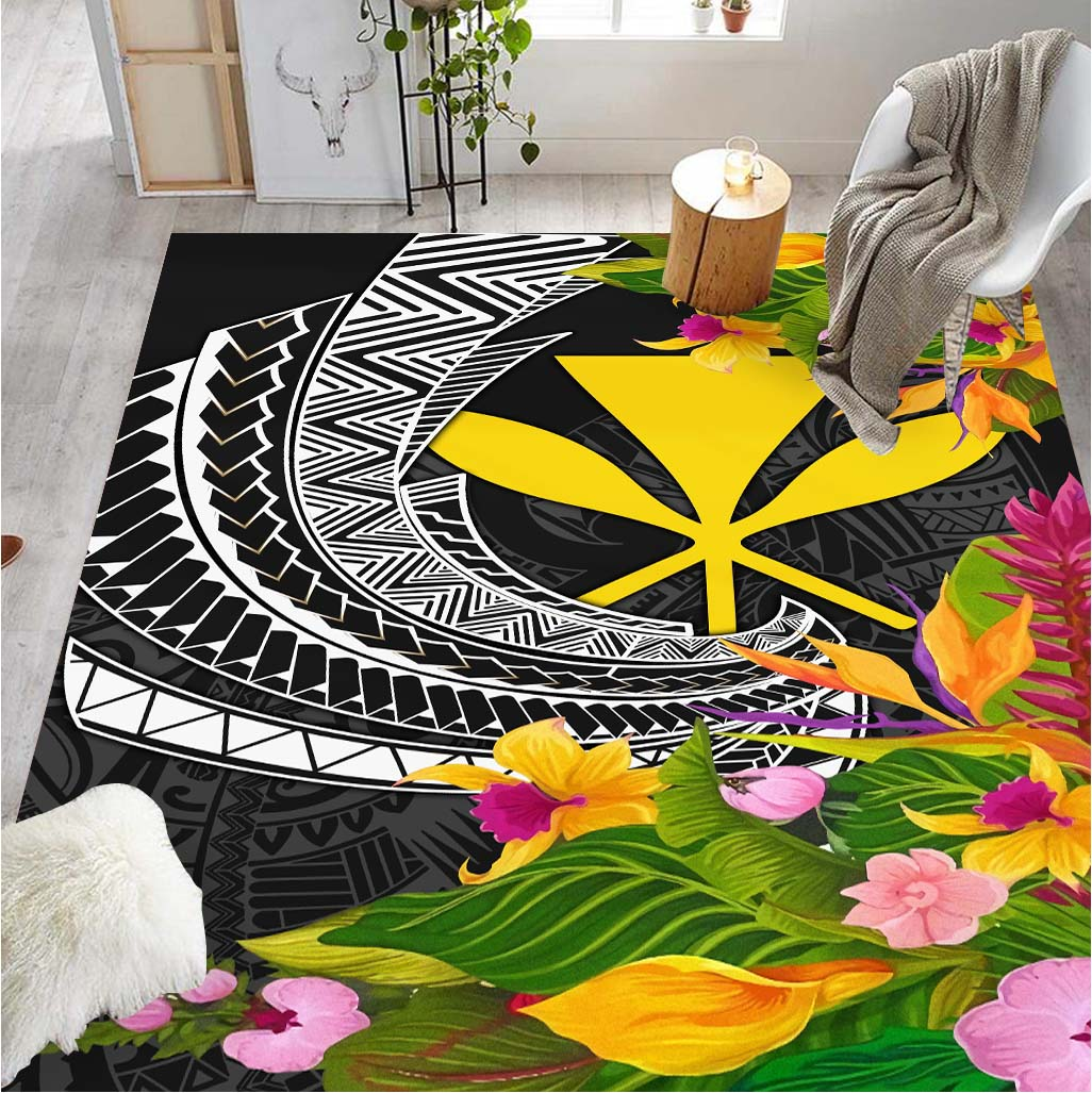 HAWAII SEAL SPIRAL PACIFIC PATTERNS RUG - luxamz