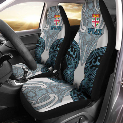 Fiji Active Special Flag Polysenian Tattoo Car Seat Cover - luxamz