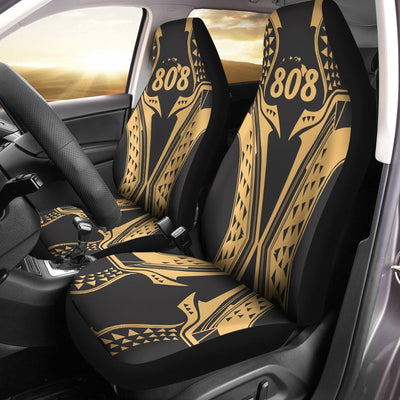 Hawaii Gold Fin Style Car Seat Cover