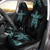 Hawaii Blue Turtle And Hibiscus Car Seat Covers