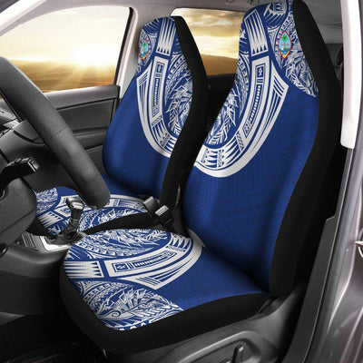 Guam Polynesian special cultural Tribal Tattoo Car Seat Cover