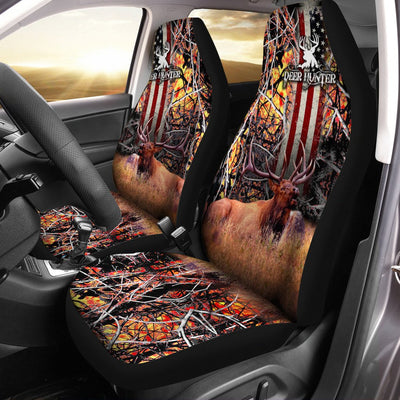 Deer Hunting Car Seat Cover - luxamz