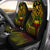 Samoa - Cross Style Reggae Color Car Seat Covers - luxamz
