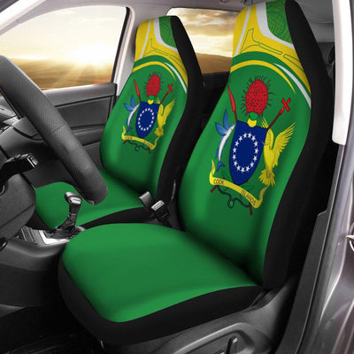 Cook Islands Eudora Style Car Seat Cover