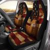 whitetail deer lover hunting Car Seat Cover