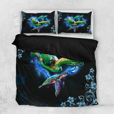 Three Turtles Bedding Set All Over Printed