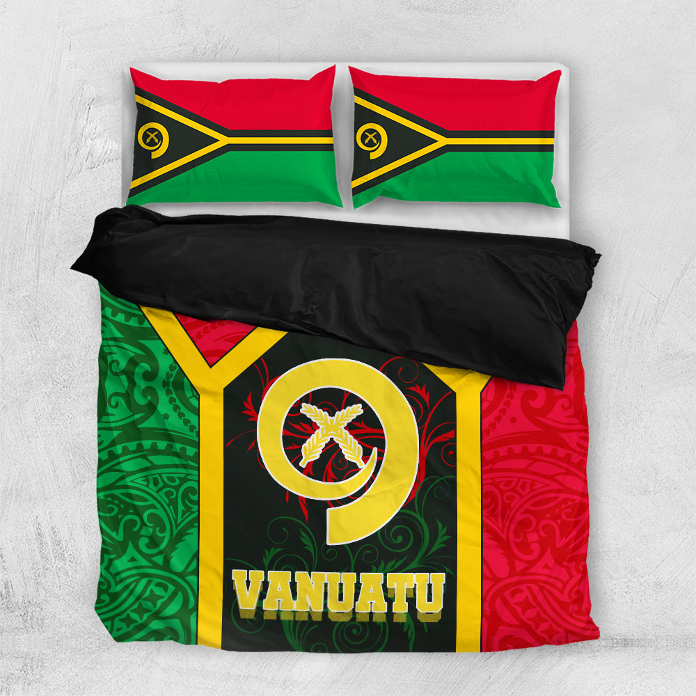 Vanuatu Polynesia lover Bedding Set All Over Printed - luxamz