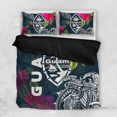 Guam Guahan Summer Vibes Bedding Set All Over Printed - luxamz