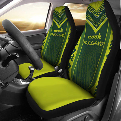 COOK ISLAND POLYNESIAN Car Seat Cover