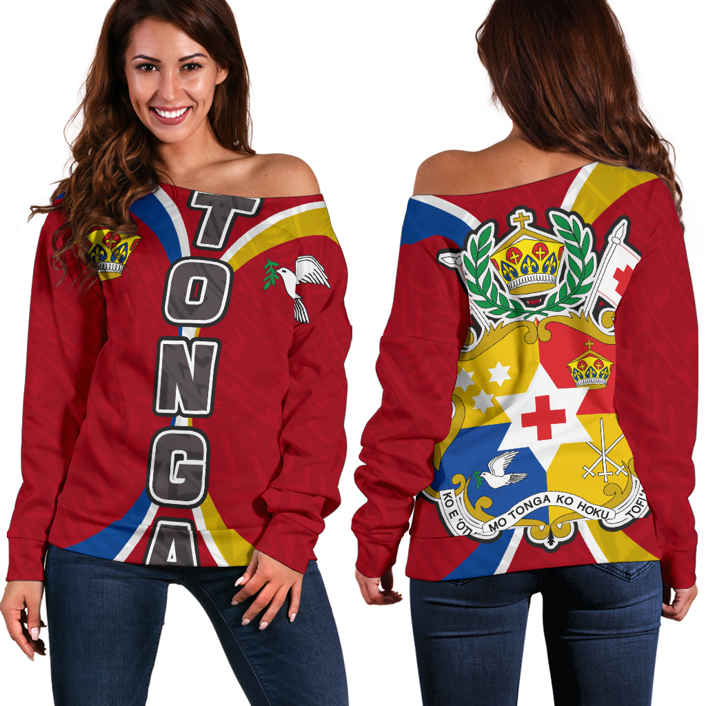 Tonga Polynesian Impact Version Shoulder Sweater