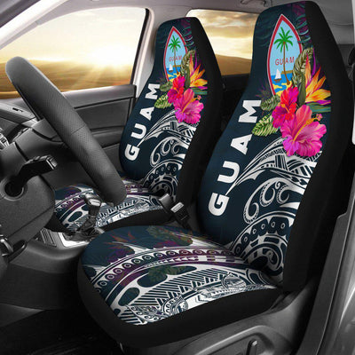 Guam Guahan Summer Vibes Car Seat Covers