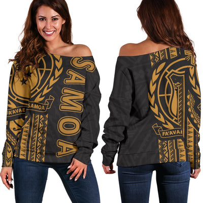Samoa Polynesian Shoulder Sweater - luxamz