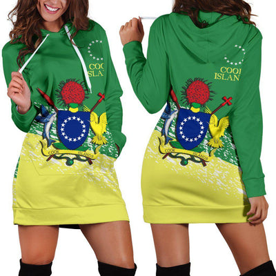 KUKI AIRANI COOK ISLANDS SPECIAL Hoodie Dress - luxamz