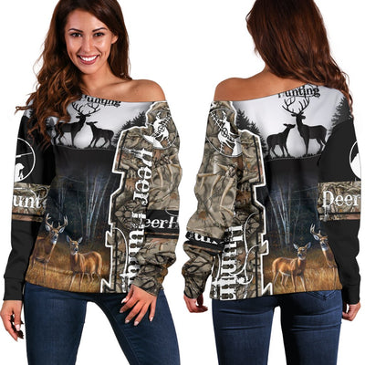 Deer Hunting Shoulder Sweater