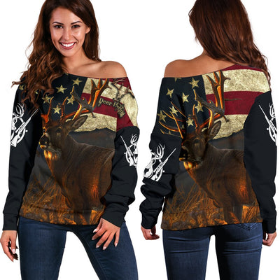 Deer Hunting 3D Shoulder Sweate