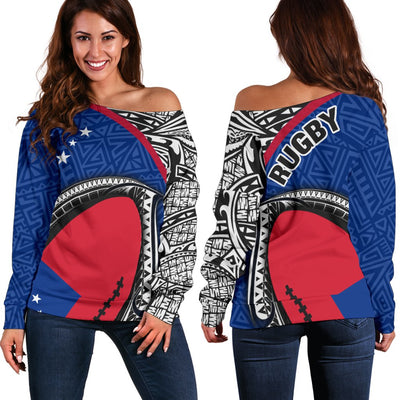 Samoa Rugby Ballc shoulder sweater