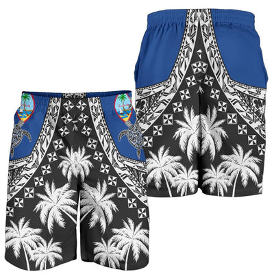 Guam Polynesian Turtle, Tropical Men's Short