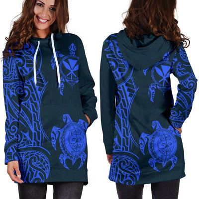 Polynesian Hawaii Hoodie Dress - luxamz