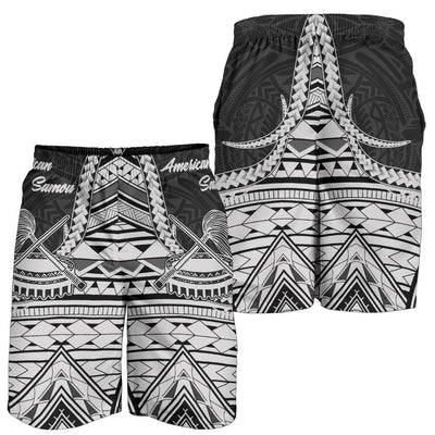 American Samoa T-Shirt - Futiga Polynesian Patterns Men's Short