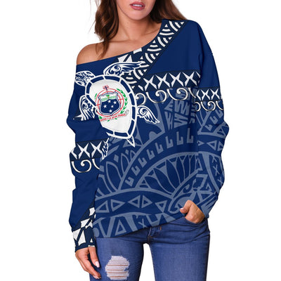 SAMOA LIGERKING Shoulder Sweater