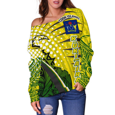 Cook Islands Tides Style Special Shoulder Sweater
