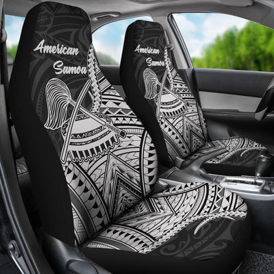 American Samoa T-Shirt - Futiga Polynesian Patterns Car Seat Cover