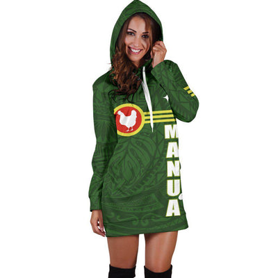 American Samoa Polynesian Manua Islands Group Hoodie Dress