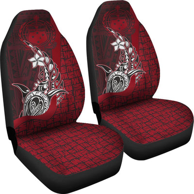 Samoa Polynesian Turtle with Hook Car Seat Covers