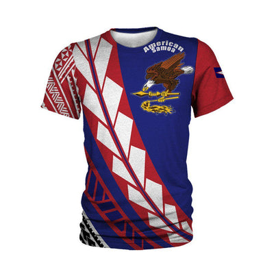 American Samoa Flag Edition Pullover All Over Print - luxamz