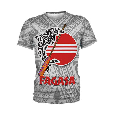 Fagasa American Samoa Pattern Gray all over print - luxamz