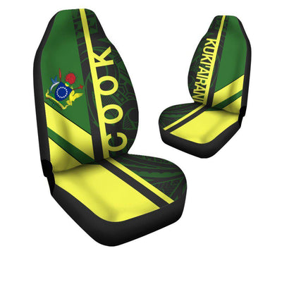 COOK ISLANDS HALF CONCEPT Car Seat Cover