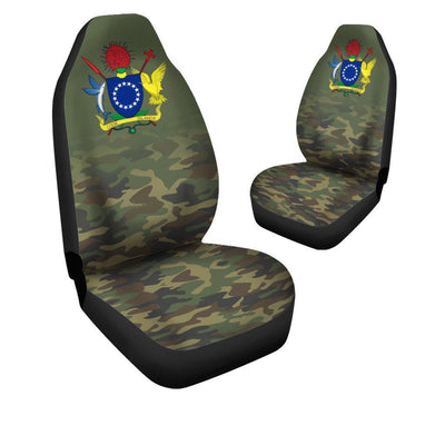 Cook Islands Camo Car Seat Cover