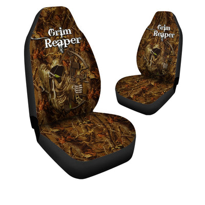 Grim Reaper Hunting Car Seat Cover