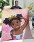 Crown Cute Girl Custom Names Duvet Cover Quilt