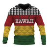 Seal of Hawaii Kanaka Maoli Flag Colors all over print