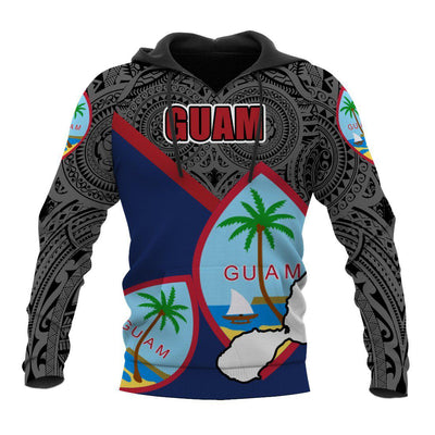 Guam Flag Pride Style All Over Print