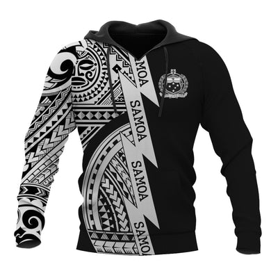 Samoa Coat Of Arms White New All Over Print