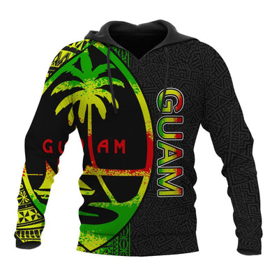 Guam Polynesian Personalised Custom All Over Print - luxamz
