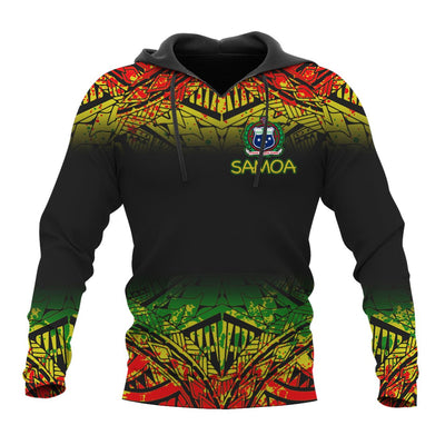 Samoa Polynesian Turtle Tattoo Fog Reggae All Over Print