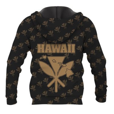 Hawaii King Kanaka Maoli Golden all over print - luxamz